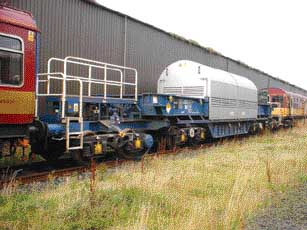 Special nuclear material by rail in the UK