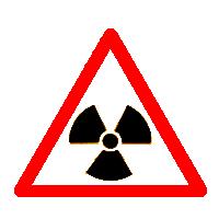 Warning - nuclear materials