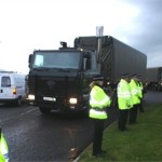 police-scotland-at-roadside-with-convoy